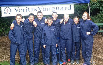 veritas cross country team cropped
