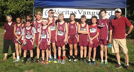 veritas-school-cross-country-middle-school-team